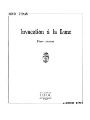 Invocation A La Lune TOMASI Partition Mélodies - laflutedepan