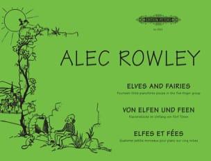 Von Elfen Und Feen Opus 38 Alec Rowley Partition Piano - laflutedepan