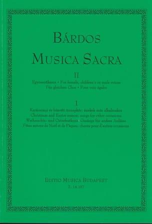 Musica Sacra Volume 2 Lajos Bardos Partition Chœur - laflutedepan