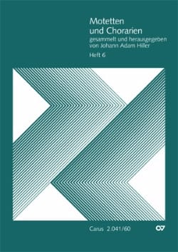 Motets et Arias Pour Chœur. Volume 6 - laflutedepan.com