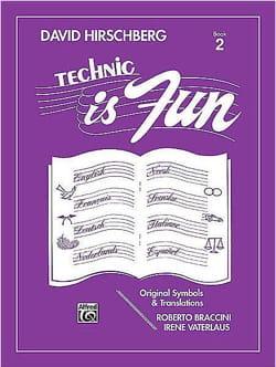 Technic is fun Volume 2 David Hirschberg Partition laflutedepan