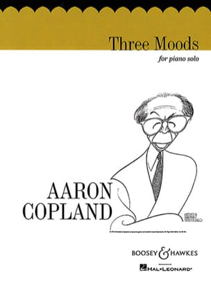 Aaron Copland - 3 Moods - Partition - di-arezzo.co.uk