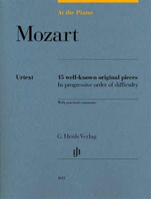 Mozart, At The Piano MOZART Partition Piano - laflutedepan