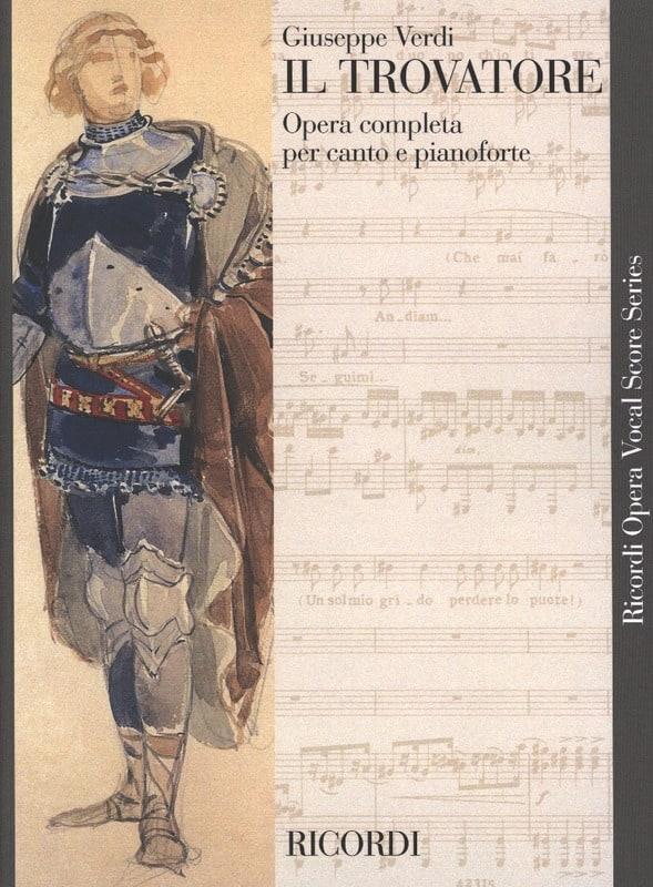 Il Trovatore. - VERDI - Partition - Opéras - laflutedepan.com
