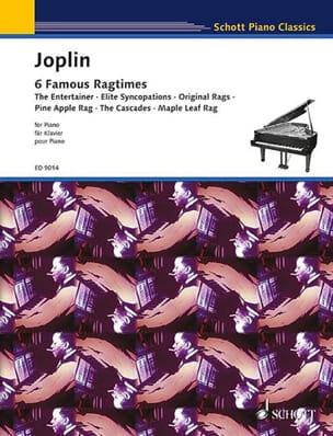 6 Ragtimes JOPLIN Partition Piano - laflutedepan