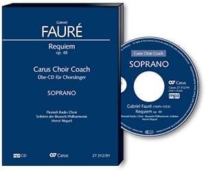 Requiem Opus 48. Version 1900. CD (MP3) Soprano CHOEUR - laflutedepan.com