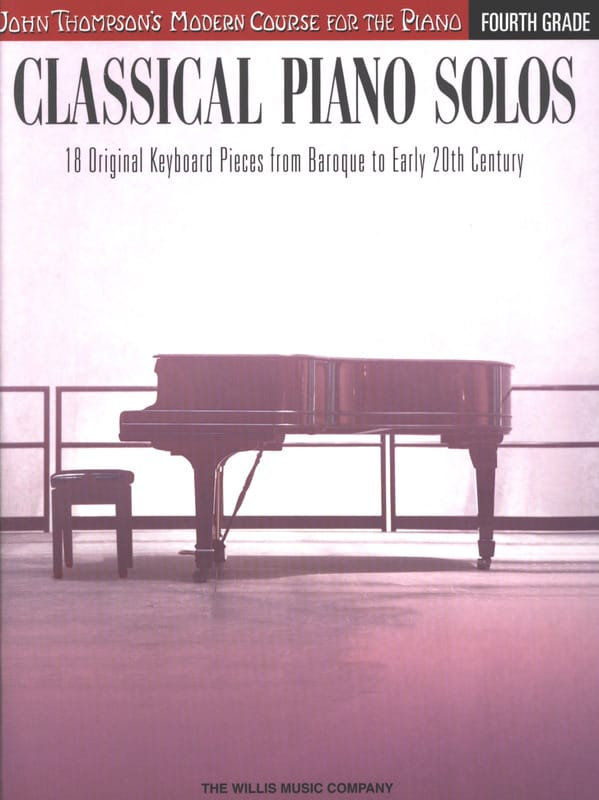 Classical piano solos - Volume 4 - Partition - laflutedepan.com