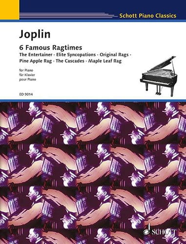 6 Ragtimes - JOPLIN - Partition - Piano - laflutedepan.com