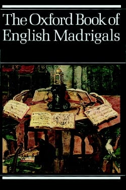 The Oxford Book of English Madrigals Partition Chœur - laflutedepan