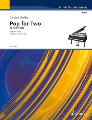 Pop For Two Carsten Gerlitz Partition Piano - laflutedepan