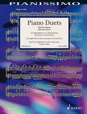 Piano duets Partition Piano - laflutedepan