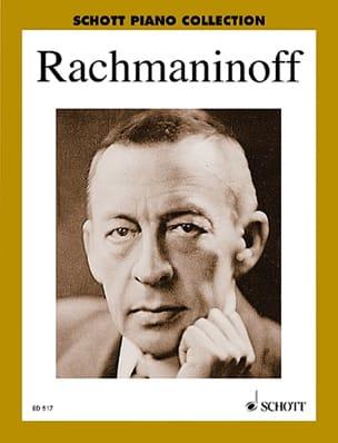 Piano Album RACHMANINOV Partition Piano - laflutedepan