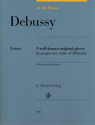 Debussy, At The Piano DEBUSSY Partition Piano - laflutedepan