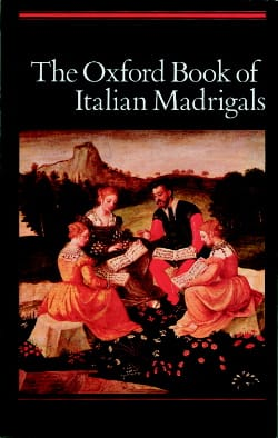 The Oxford Book of Italian Madrigal Partition Chœur - laflutedepan