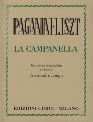 La Campanella. 4 Mains Liszt Franz / Paganini Niccolo laflutedepan
