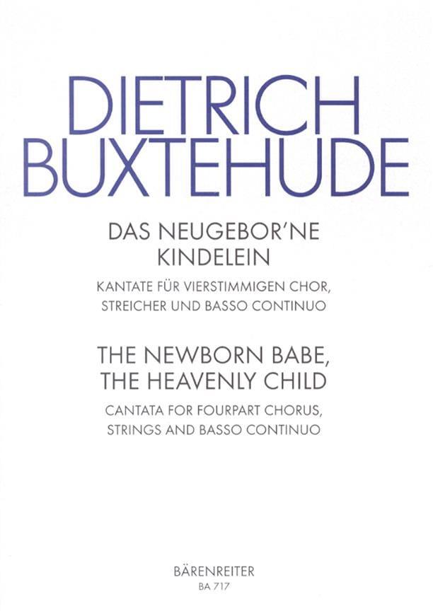 Das Neugeborne Kindelein Buxwv 13 - BUXTEHUDE - laflutedepan.com