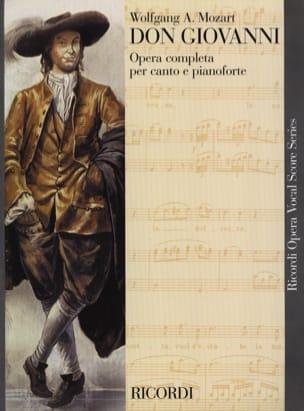 MOZART - Don Giovanni K 527 - Partition - di-arezzo.es