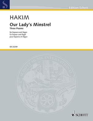Our lady's Minstrel Naji Hakim Partition laflutedepan