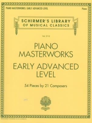Piano Masterworks. Early advanced level Partition laflutedepan
