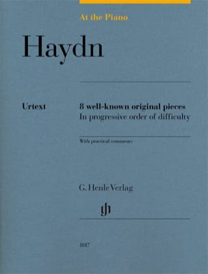 Haydn, At The Piano HAYDN Partition Piano - laflutedepan