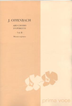 10 Airs Choisis D'opérette. Mezzo - OFFENBACH - laflutedepan.com