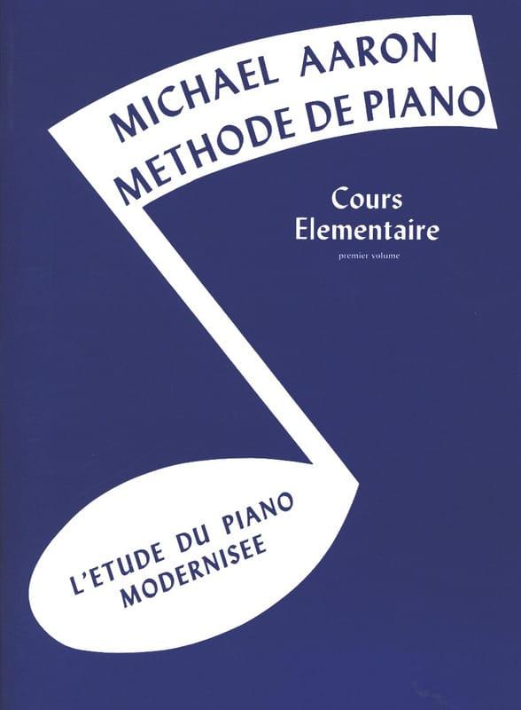 Méthode de Piano Volume 1 Cours Elémentaire - AARON - laflutedepan.com