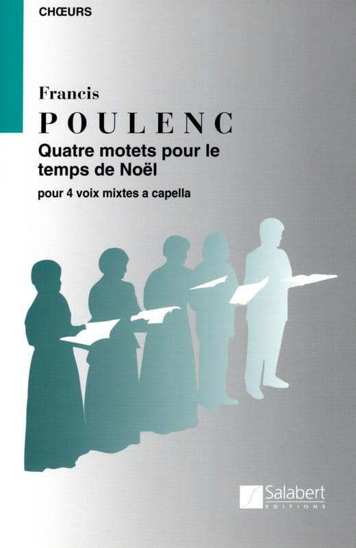 4 Motets Pour un Temps de Noël - POULENC - laflutedepan.com