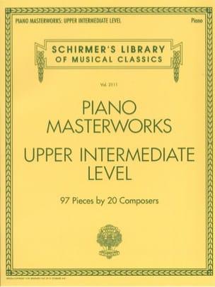 Piano Masterworks. Upper intermediate level - Partition - di-arezzo.co.uk