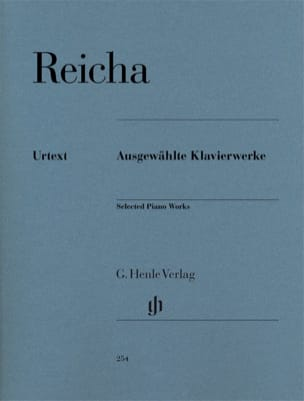 Oeuvres choisies pour piano REICHA Partition Piano - laflutedepan
