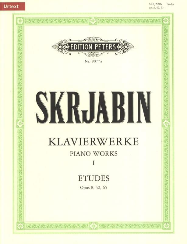 Etudes - SCRIABINE - Partition - Piano - laflutedepan.com