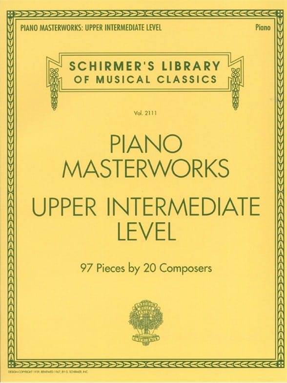 Piano Masterworks. Upper intermediate level - laflutedepan.com