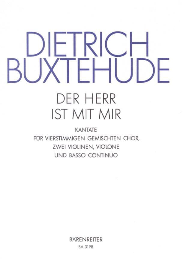 Der Herr Ist Mit Mir BuxWv 15 - BUXTEHUDE - laflutedepan.com