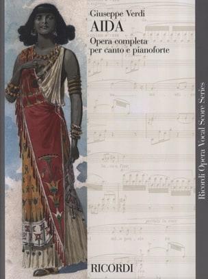 Aida - VERDI - Partition - Opéras - laflutedepan.com