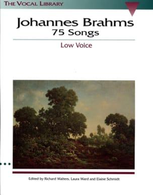 BRAHMS - 75 Songs. Deep voice - Partition - di-arezzo.com