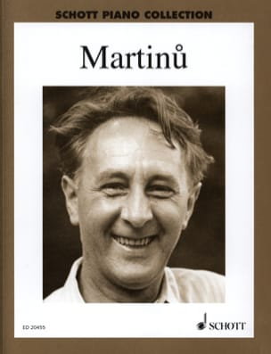 Oeuvres choisies pour piano - MARTINU - Partition - laflutedepan.com