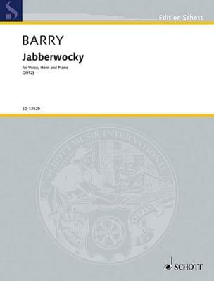 Jabberwocky Gerald Barry Partition Cor - laflutedepan