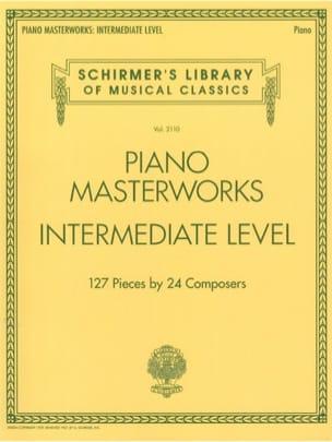 Piano Masterworks. Intermediate level Partition Piano - laflutedepan