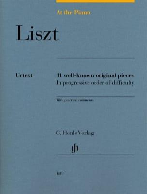 Liszt, At The Piano LISZT Partition Piano - laflutedepan