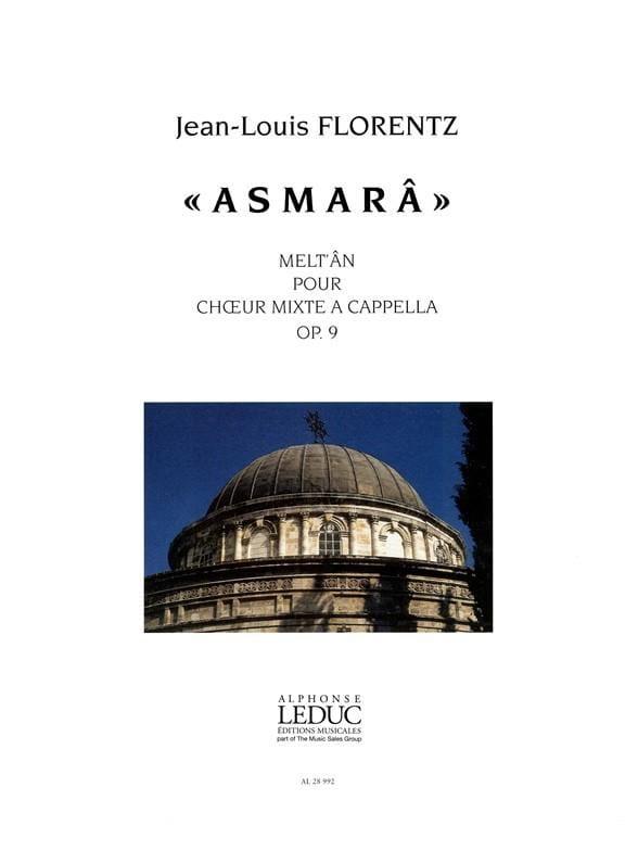 Asmarâ Op. 9 - Jean-Louis Florentz - Partition - laflutedepan.com
