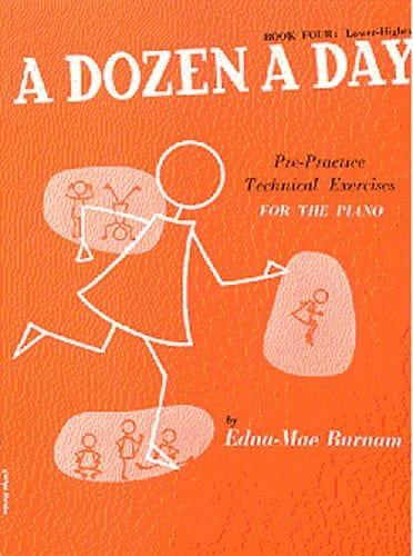 A Dozen A Day Volume 4 en Anglais - Partition - laflutedepan.com