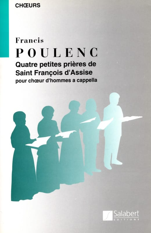 4 Petites prières de St François d'Assise - POULENC - laflutedepan.com