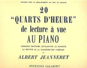 20 Quarts D'heure de Lecture A Vue Au Piano laflutedepan