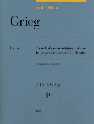 Grieg, At The Piano GRIEG Partition Piano - laflutedepan