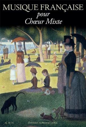 Musique Française pour choeur Mixte Partition Chœur - laflutedepan