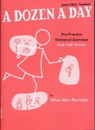A Dozen A Day Volume 3 en Anglais - Partition - laflutedepan.com