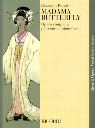 Madama Butterfly PUCCINI Partition Opéras - laflutedepan