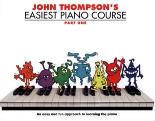 Easiest Piano Course Volume 1 Partition Piano - laflutedepan