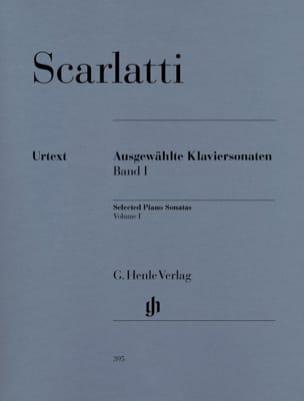Sonates choisies pour clavier. Volume 1 SCARLATTI laflutedepan