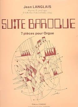 Suite Baroque Opus 176 Jean Langlais Partition Orgue - laflutedepan