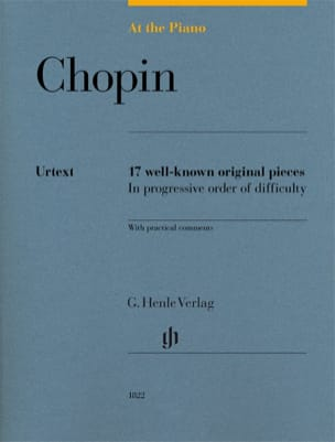 Chopin, At The Piano CHOPIN Partition Piano - laflutedepan